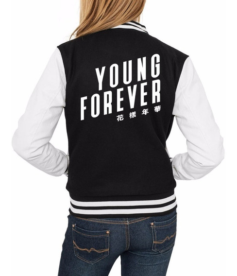 Jaqueta Bts Young Forever Blusa Kpop Moleton Army + Brinde