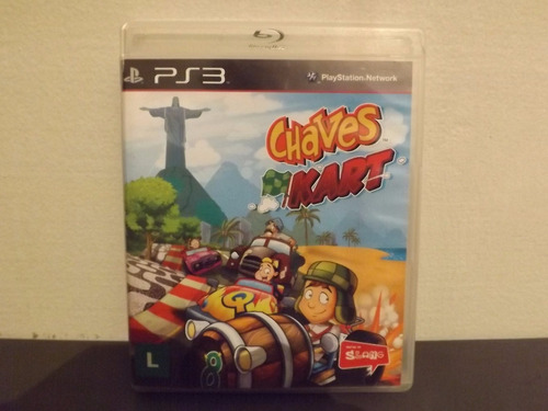Ps3 Chaves Kart - Completo - Aceito Trocas...
