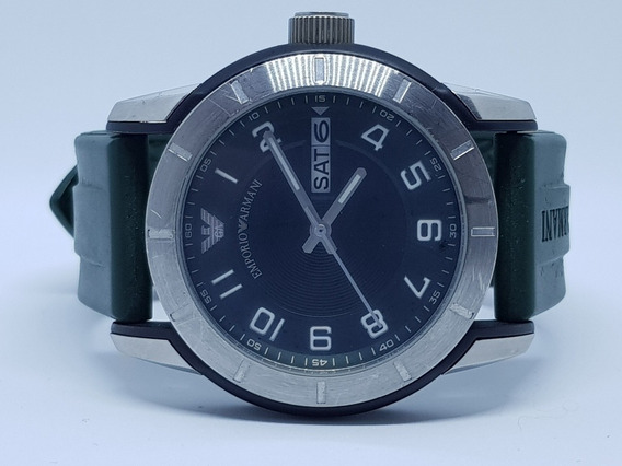 Relógio Esportivo Emporio Armani Verde Ar-5874