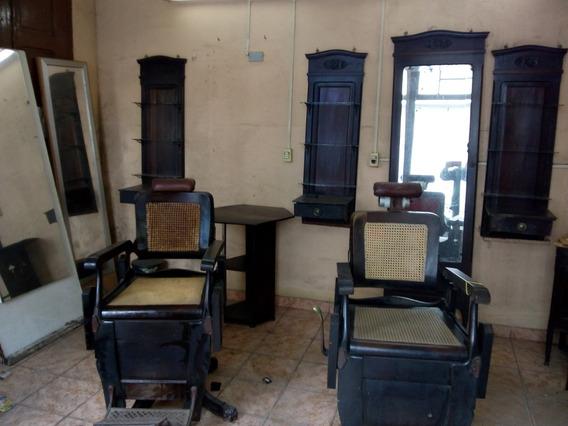 2cadeiras + Móveis De Barbearia Irmãos Campanile Década 1900