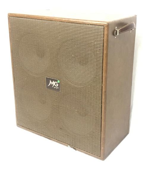 Caixa 4x10 Mg Music Para Guitarra Som Top - Fotos Reais!!