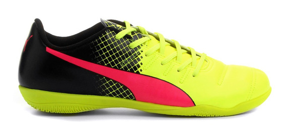 Chuteira Futsal Puma Evopower 4.3 Tricks It Masculina - Pink