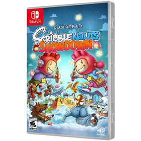 Jogo Scribble Nauts Showdown - Nintendo Switch.