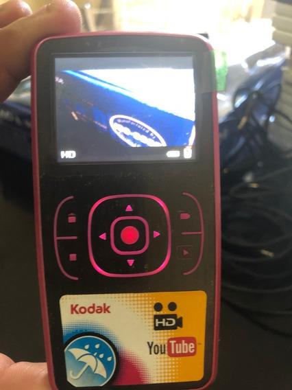 Filmadora De Mão Kodak Hd 2 X 1 Funcionando