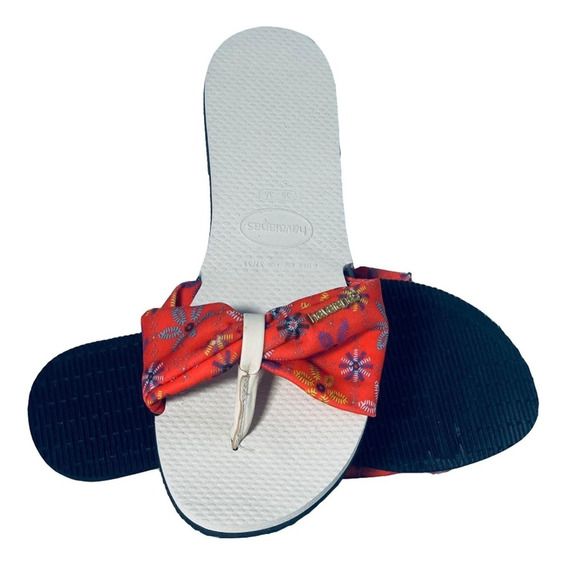 Chinelo Havaianas Original You Saint Tropez Sandalia