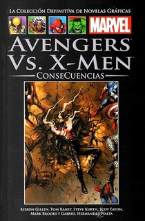 Colecc. Def. Marvel # 130- (90) Avengers Vs X-men: Consecuen