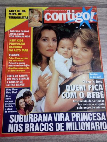Contigo 796 Xuxa Angélica Mara Senna Lady Di Silvia Pfeifer