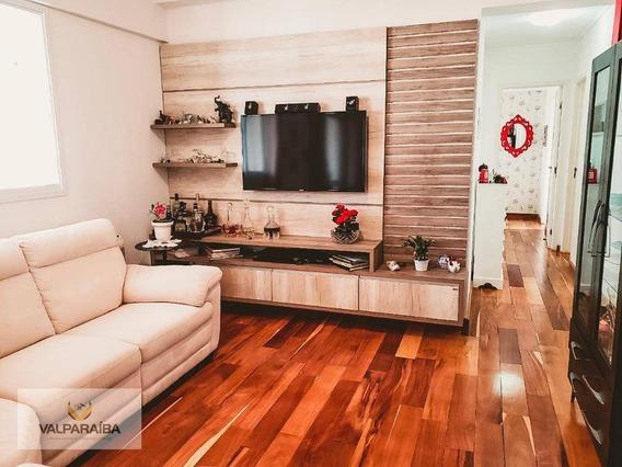 Apartamento Com 3 Dormitórios À Venda, 103 M² Por R$ 750.000 - Vila Adyana - São José Dos Campos/sp - Ap0492