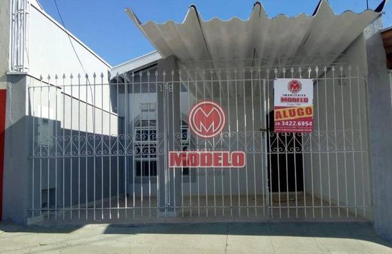 Casa Para Alugar, 80 M² Por R$ 850,00/mês - Piracicamirim - Piracicaba/sp - Ca2724