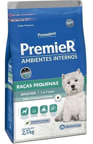 Ração Premier Pet Ambientes Internos Cães Adultos 2.5 Kg