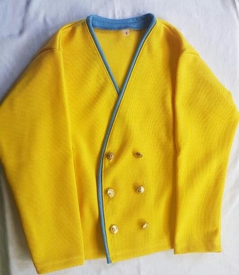 Suéter Escolar Cruzado