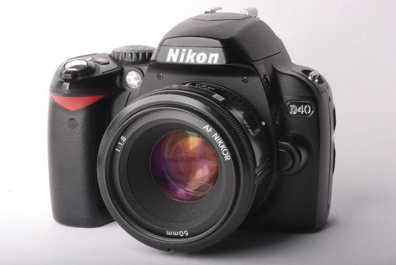 Camara Fotografica Nikon D40 - Yusty