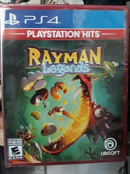 Jogo Rayman Legends Playstation 4 Novo Lacrado
