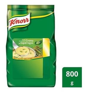 Crema De Esparragos Knorr X 800 Grs - Unidad a $1