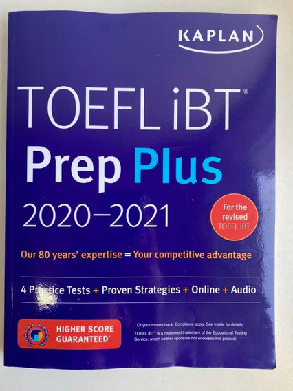 Toeil Ibt Prep Plus 2020-2021