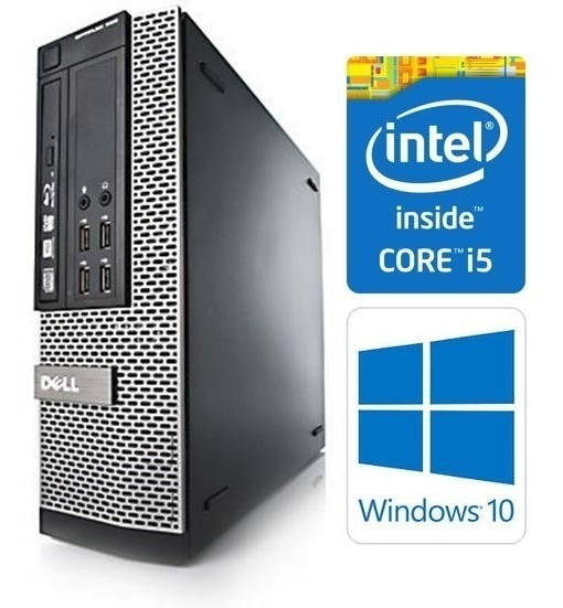 Cpu Gamer Dell I5 8g Wifi Autocad Corel Jogos
