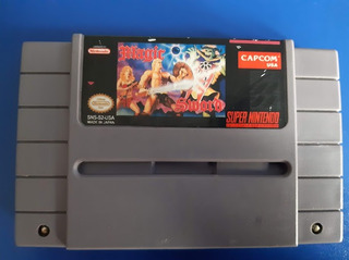 Juego Cassette Magic Sword Super Nintendo Snes