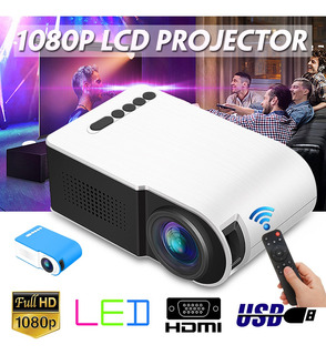 3d Hd Mini Proyector Yg210 1080p Led Multimedia Reproductor