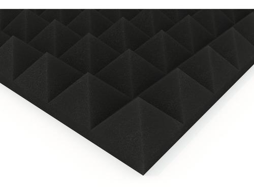 Imagen 1 de 7 de Paneles Acústicos Modelo Piramid Basic 500x500x50mm Musycom