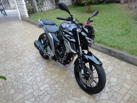 Yamaha Fz25 250 Fazer Flex 2018 Preta 6.700km Garantia Nova