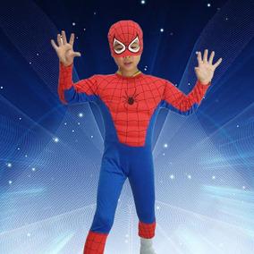 Fantasia Homem Aranha Spider-man Com Músculo !!