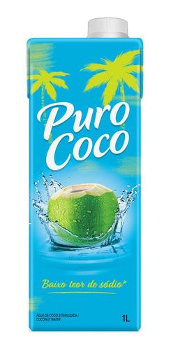 Imagem 1 de 2 de Água De Coco Maguary Puro Coco 1 Litro