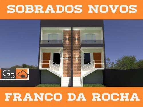 Lindo Sobrado Com 2 Suítes Em Franco Da Rocha - Ca00485 - 69420129