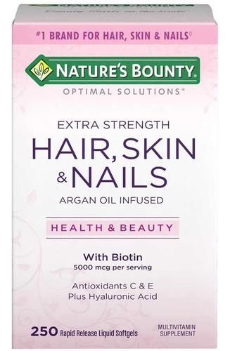 Hair Skin & Nails 250 Capsulas Sofgel