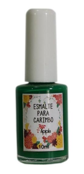 Esmalte Para Carimbo De Unhas Apipila Verde