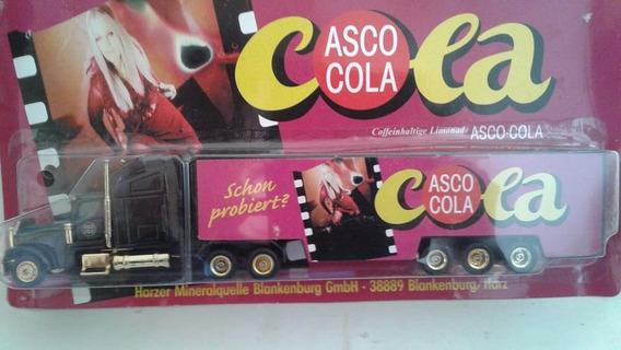 Miniatura Caminhão Carreta Asco Cola Escala 1:87 Lacrado !!!