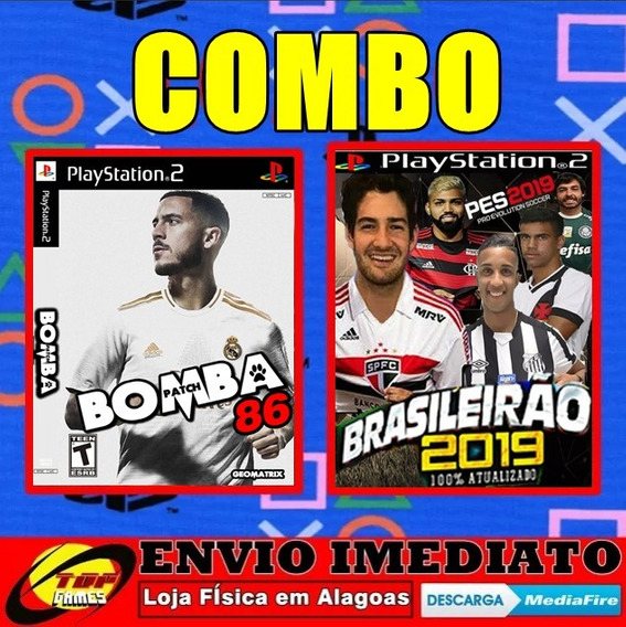 Bomba Patch 86 + Pes19 ( Combo )