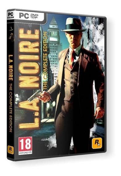 La Noire Complete Edition Pc Dvd - Mídia Física Frete 8 R$