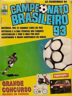 Álbum De Figurinha Digitalizado Campeonato Brasilerio 1993