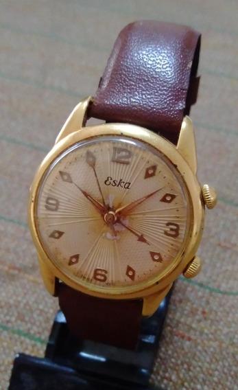 Relógio Eska A Corda Alarme As 1475