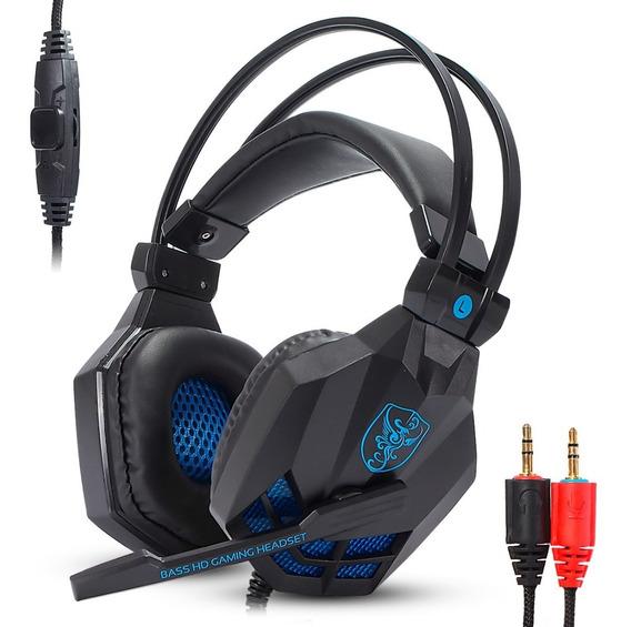 Fone Gamer Headset Ps4 Xbox One Adaptador Jogo Eletronico Pc