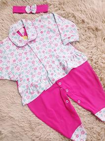 Macacao Pink Bebê