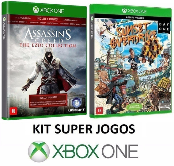 Assassins Creed Ezio Collection + Sunset Overdrive Xbox One