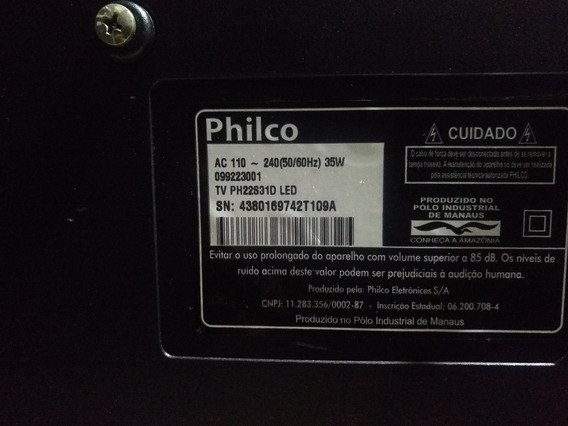 Tv Philco 22 Polegadas Com Conversor Digital Integrado