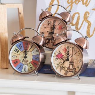Reloj Despertador Con Campana 16cm X 10cm 3 Colores