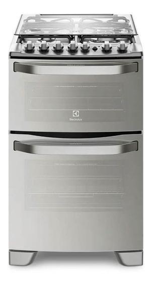 Cocina Electrolux 56dax Inoxidable Doble Horno