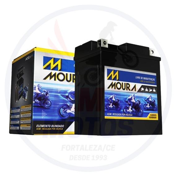 Bateria Moto Moura Yt12b-bs Ma11-e Yamaha Xj-6 Fazer Vm4