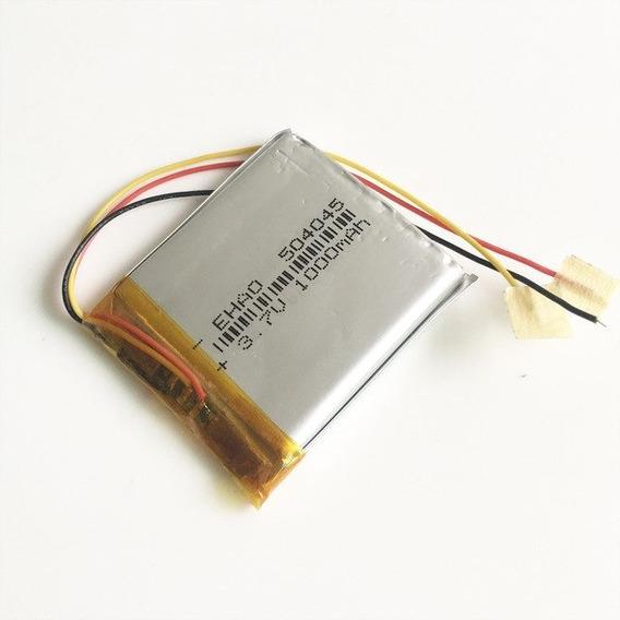 Bateria iPod Mp3 Gps 1000mah 3,7v 5mm X 40mm X 45mm