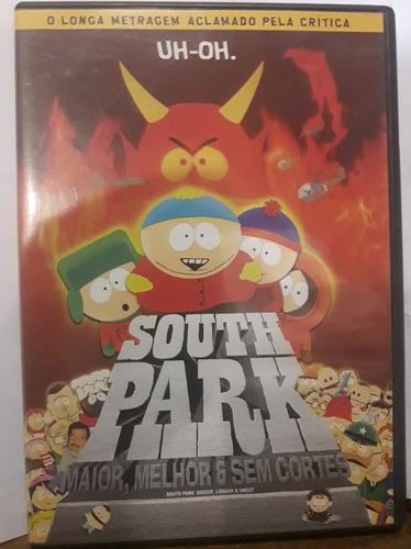Imagem 1 de 4 de Dvd - South Park: Maior, Melhor E Sem Cortes