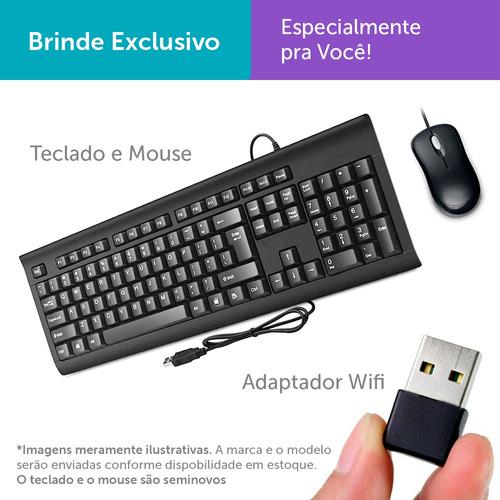 Imagem 1 de 4 de Pc Escritório Dell Optiplex Int I5 2g 4gb Ssd240+1tb Mon19w