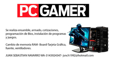 Se Arman Pc Gamer - Se Ensamblan Pc Gamer