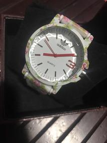 Relógio Feminino Estampado Flores