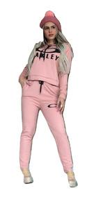 Conjunto Moletom Oakley Inverno Blusa Calça Barato Atacado