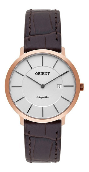Relógio Orient Feminino Rose Frscs001 S1mx Vidro Sapphire