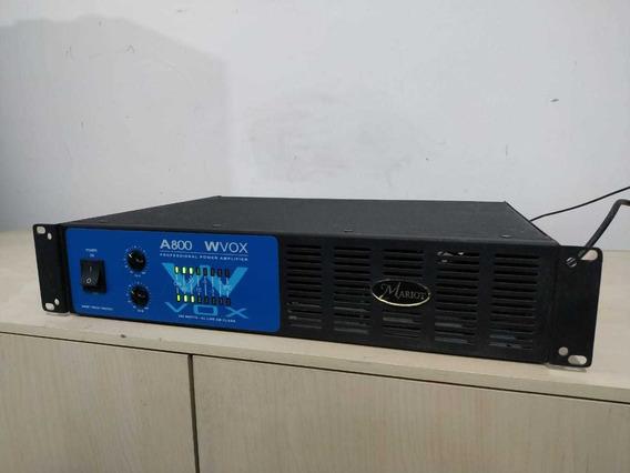 Amplificador Machine Vox 800 300wts