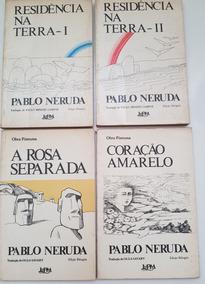 Lote De Livros L&pm Pablo Neruda Residência Na Terra